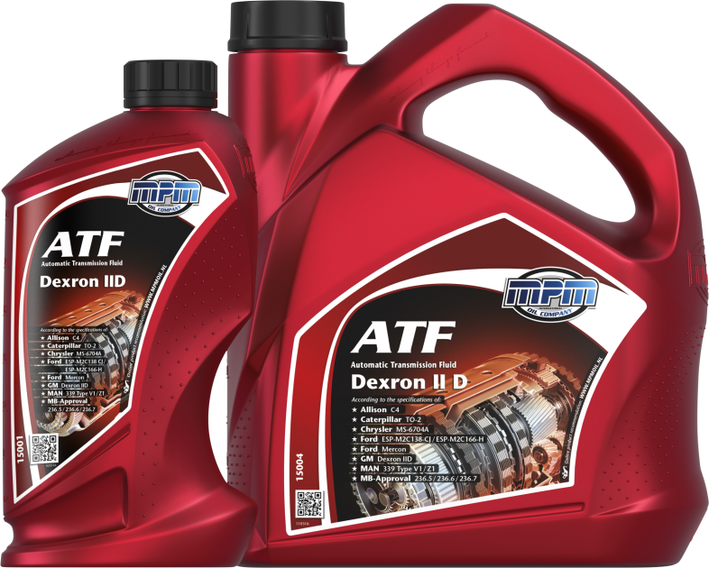 15000 • ATF Automatic Transmission Fluid Dexron II-D